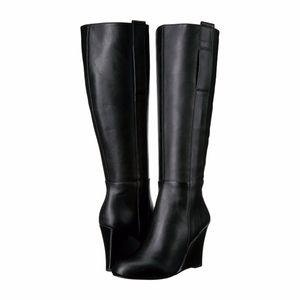 9819927296b NINE WEST - Orsella Tall Wedge Boot NWT